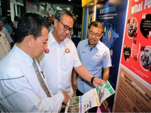 Launching of IMBRT Larkin Infobooth